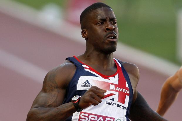 Dwain Chambers 100m