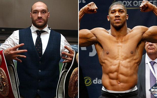 Tyson Fury targets Anthony Joshua