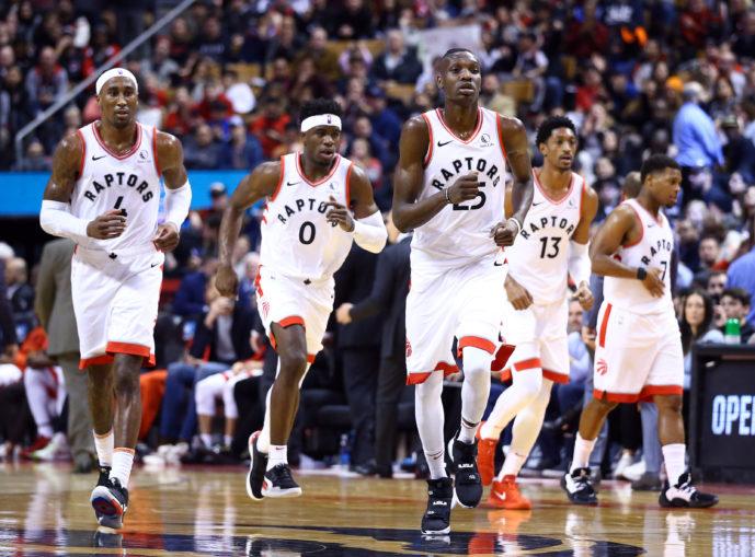 Raptors bench