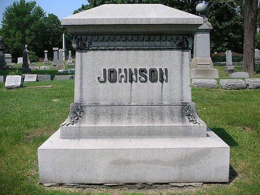 Jack Johnson Grave (1878-1946)
