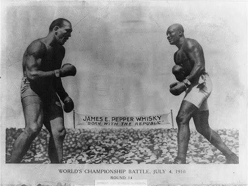 Jack Johnson vs. James J. Jeffries