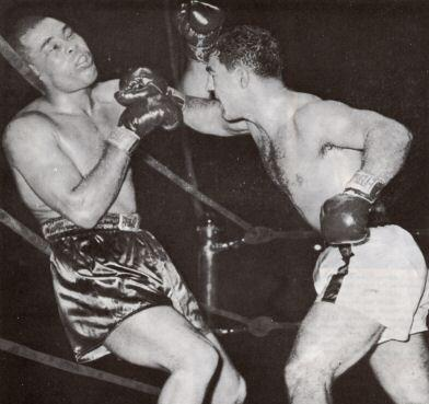 Marciano destroys Joe Louis in