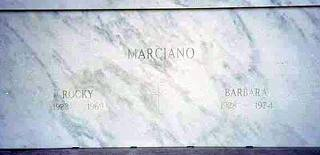 Rocky Marciano's Grave
