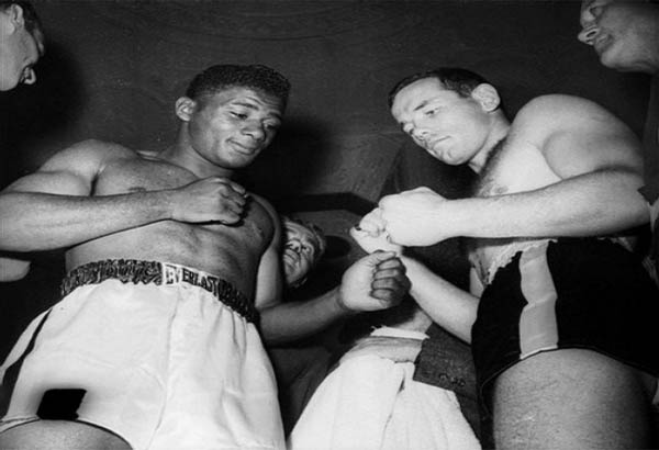 Floyd Patterson and Ingamar Johansson