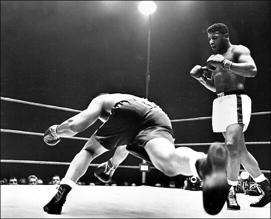 Floyd Patterson Against Archive Moore