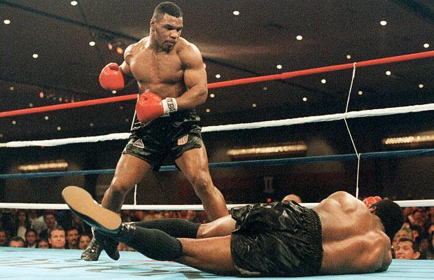 Mike Tyson Floors Trevor Berbick In Las Vegas In 1986