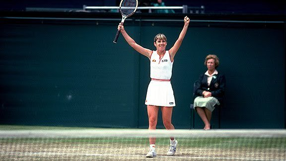 Chris Evert wins the 1980 US Championships