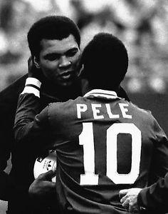 Legends: Pele and Muhammad Ali