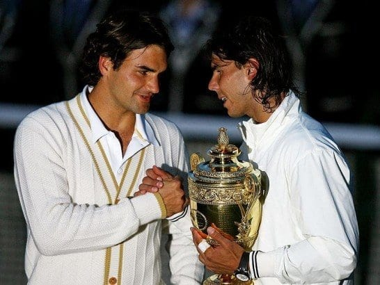 It Was Hailed As The Greatest Match Ever. The Sun set on the Federer Era and the Federer - Nadal Era Set In