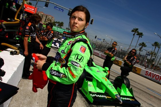 Danica Patrick at Long Beach