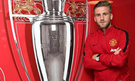Shaw will be hoping for silverware at his new club.