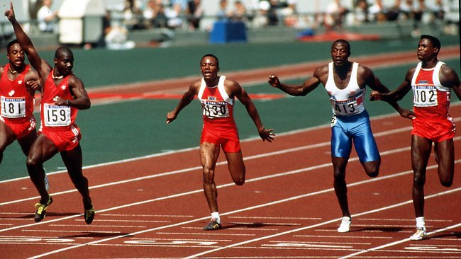 1988 Olympic Games 100m Finals