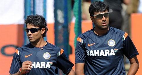 Jadeja and Ashwin: Expected to provide some spin options. Photo courtesy dohastadiumplusqatar.com