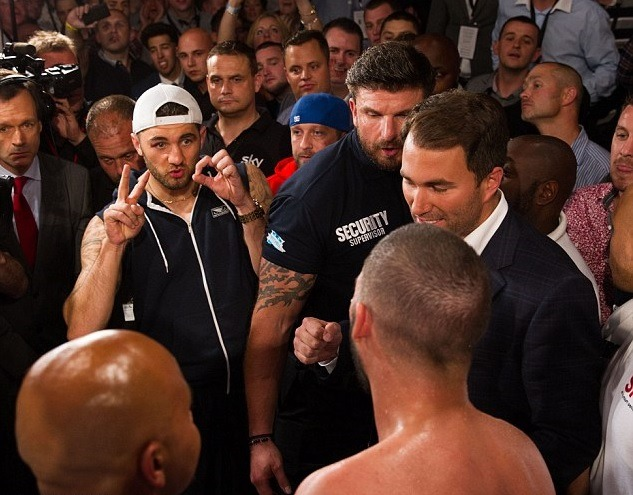 Tony Bellew reignited his fierce rivalry with Nathan Cleverly.