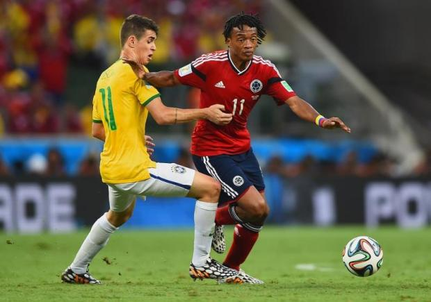 Juan Cuadrado could be heading to Borussia Dortmund