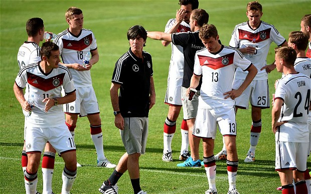The German Side Are Like A Ruthlessly Efficient Machine