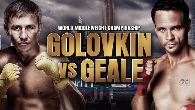 Daniel Geale faces Gennady Golovkin at Madison Square Garden 27th July