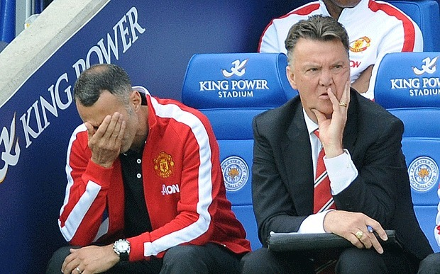 OUTFOXED: Giggs and Van Gaal bemused by United's downfall