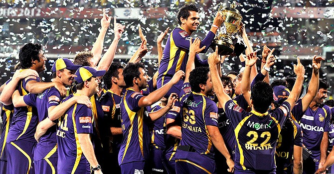 The Defending IPL Champs - Knight Riders. The IPL is second highest paid league across all sport in terms of average salary per player.