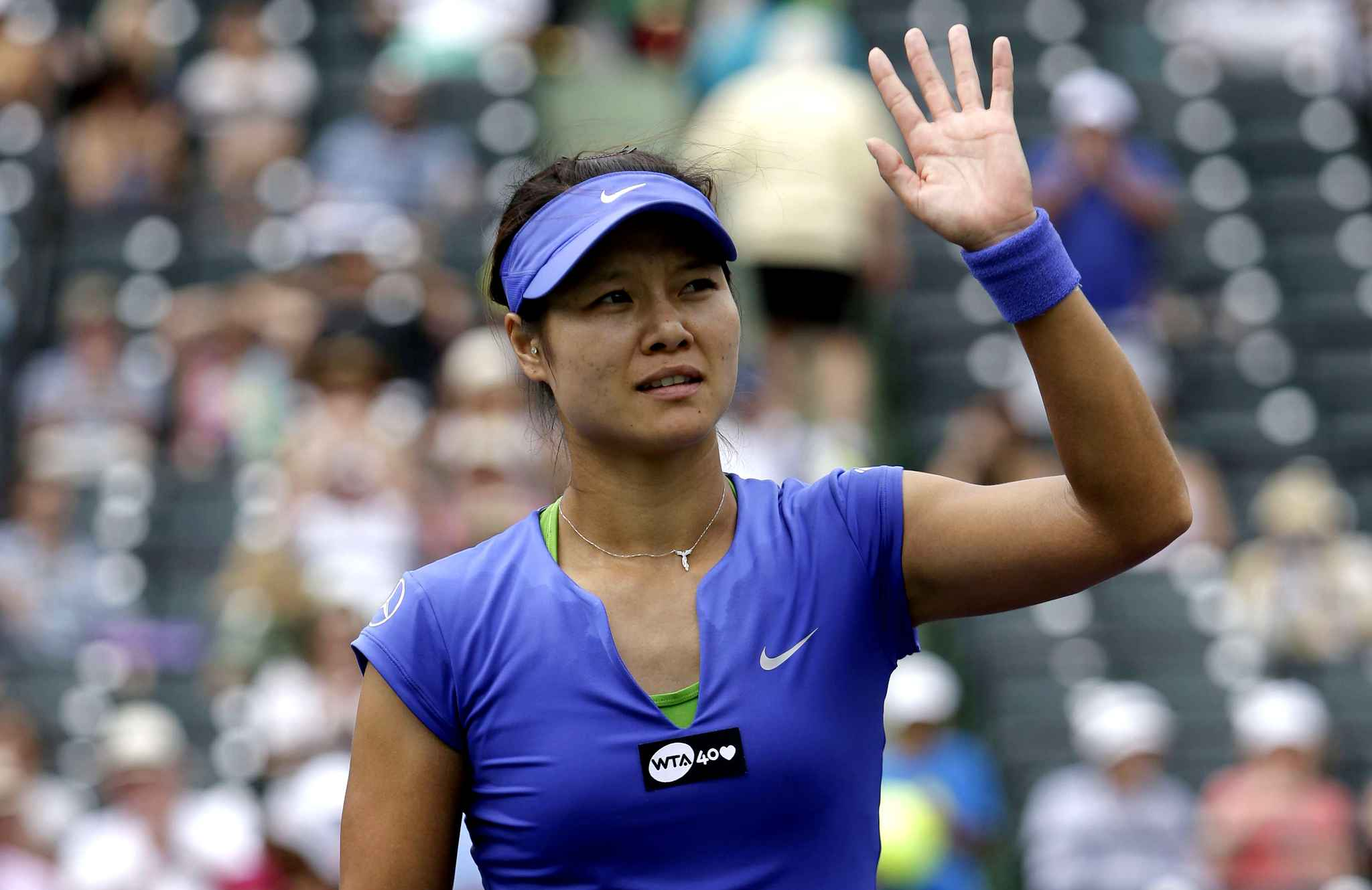 li na of china waves  diaporama