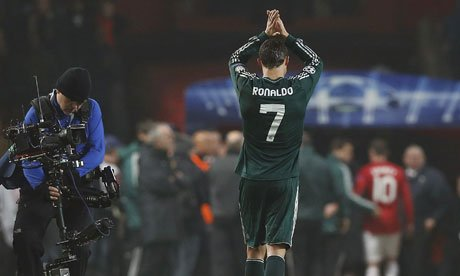 Was this Ronaldo's last act at Old Trafford?