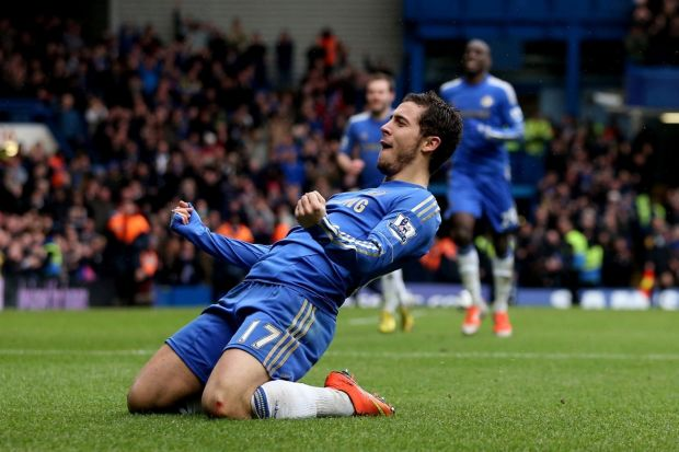 Eden Hazard Celebration HD Wallpaper for Gadgets e