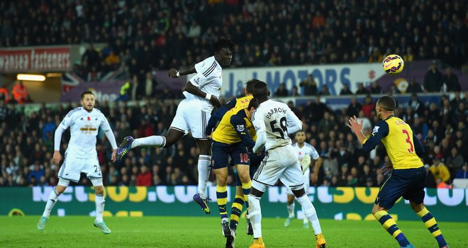 gomis swansea arsenal football