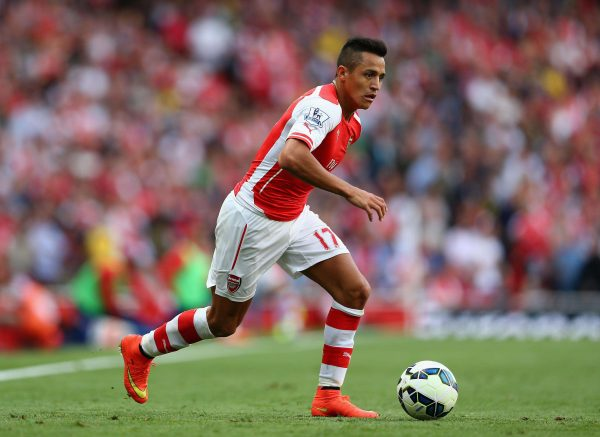 alexis sanchez arsenal e