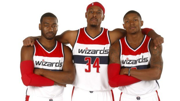 The Wizards have one of the youngest and talented backcourts (John Wall and Brad Beal) in the NBA. Pierce can teach the kids a thing or two about winning a Championship.