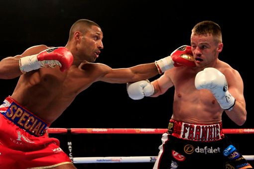 Kell Brook left and Frankie Gavin