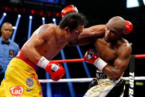 mayweather defeats pacquiao move   e
