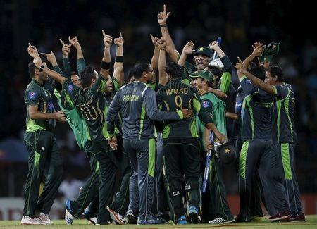 Pak celebrate