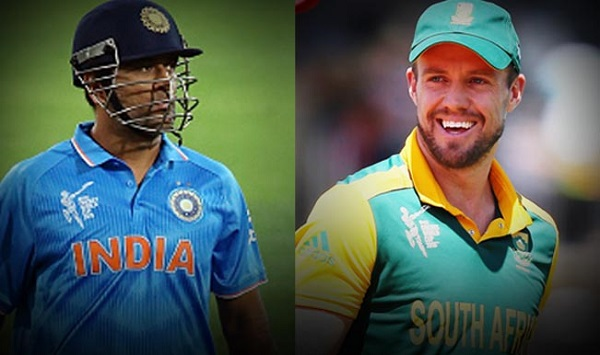 MS Dhoni and AB de Villiers - Two Stars of IPL