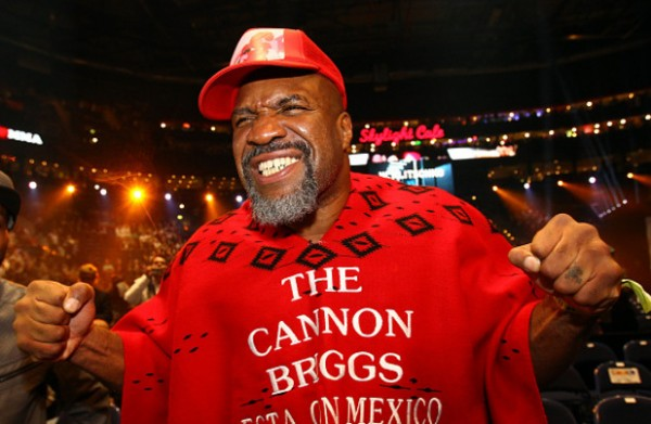 Shannon Briggs in London