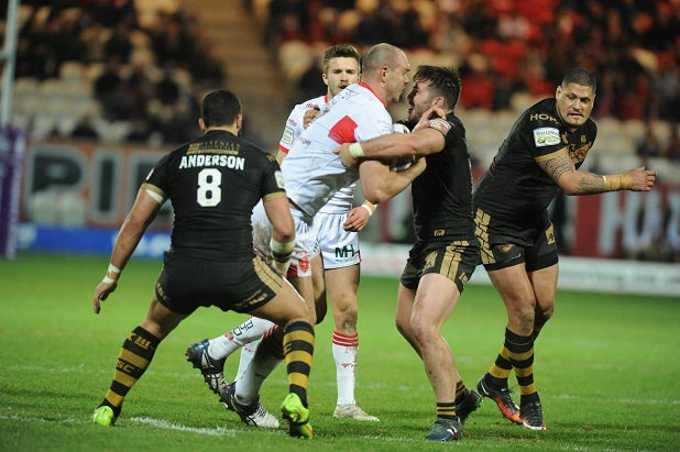 Catalan Dragons Burn Hull KR
