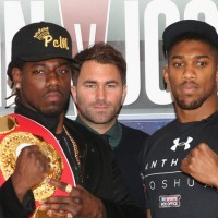 Can Anthony Joshua dethrone Charles Martin?
