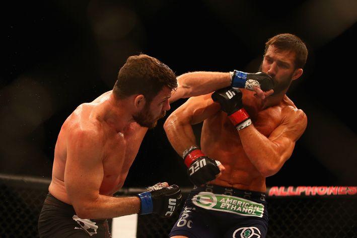 Bisping Rockhold UFC