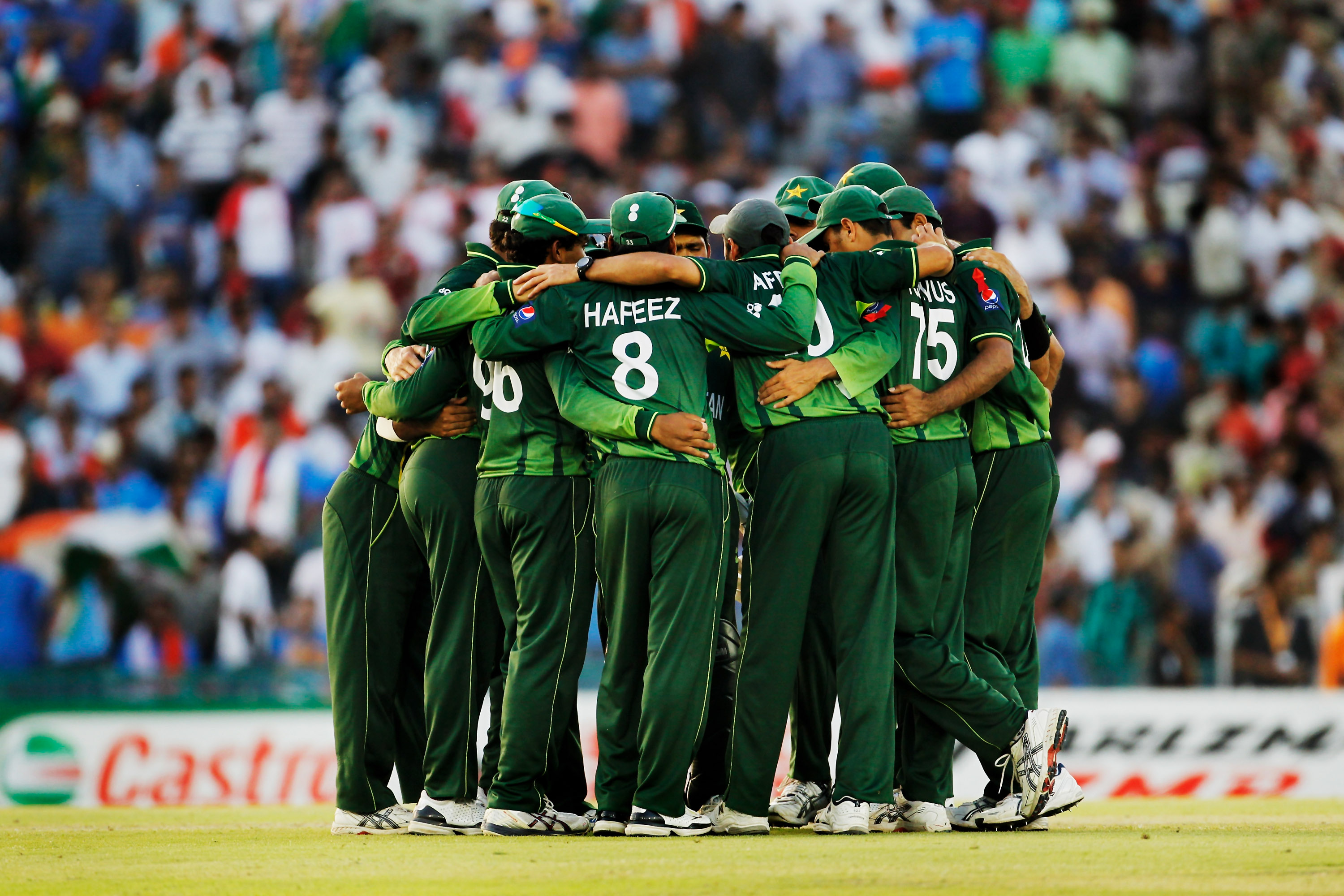 pakistan cricket team getty