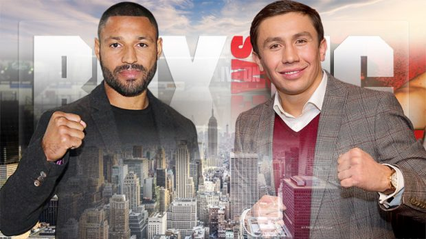 Gennady Golovkin vs Kell Brook e