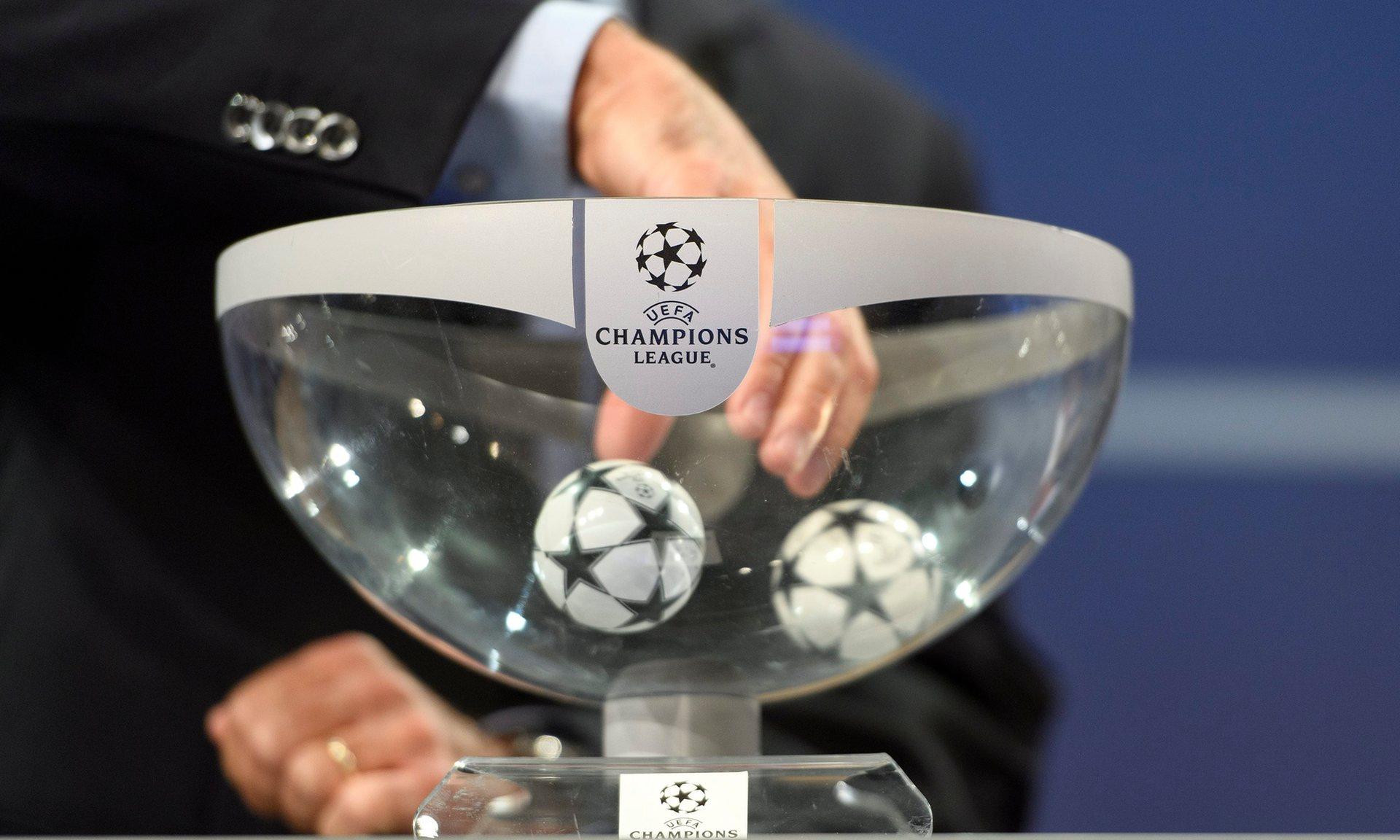 UEFAChampionsLeague/DrawforRound Held
