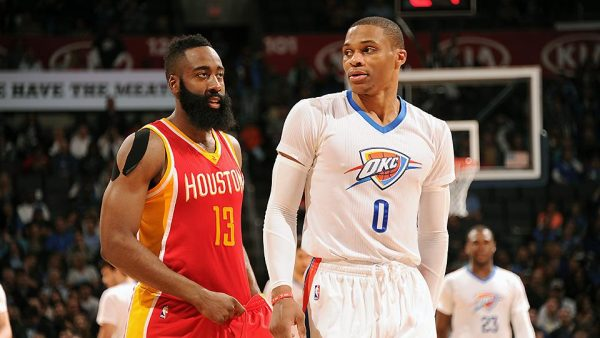 russell westbrook james harden  e