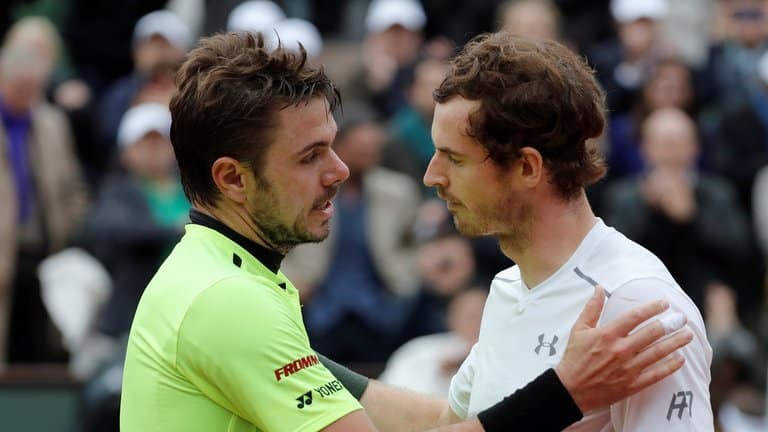 skysports tennis french open andy murray stan wawrinka