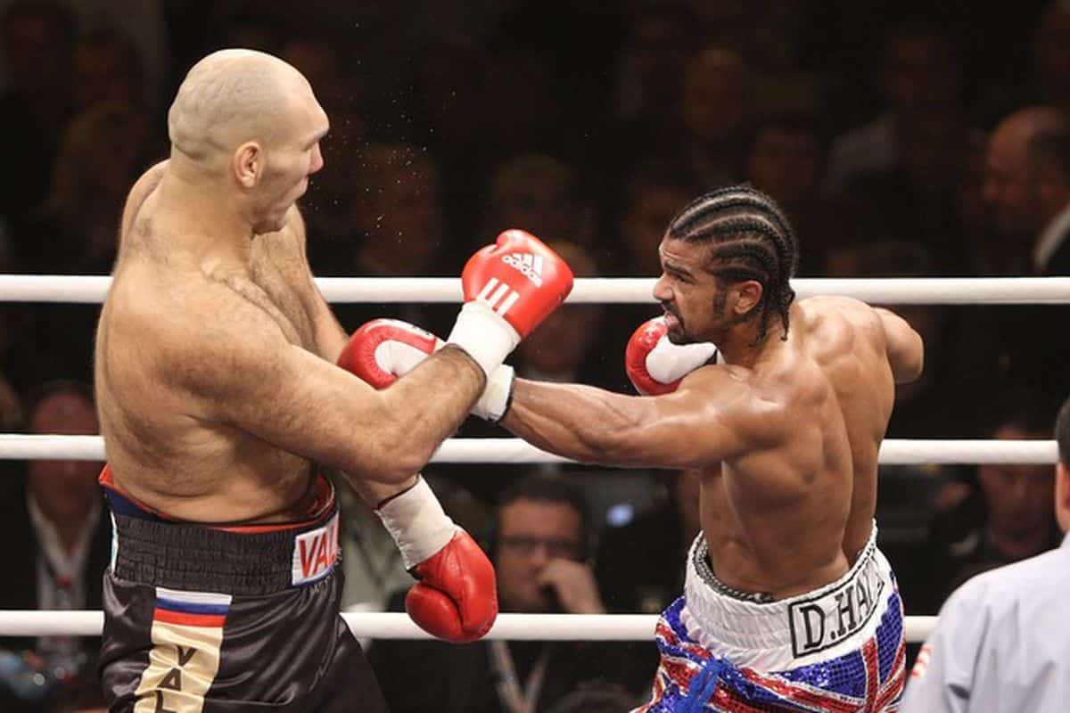 Nikolai Valuev vs. David Haye