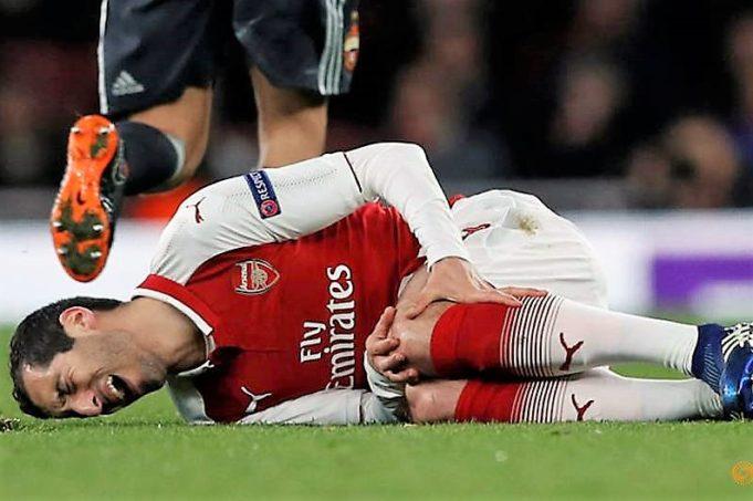 Mkhitaryan's injury