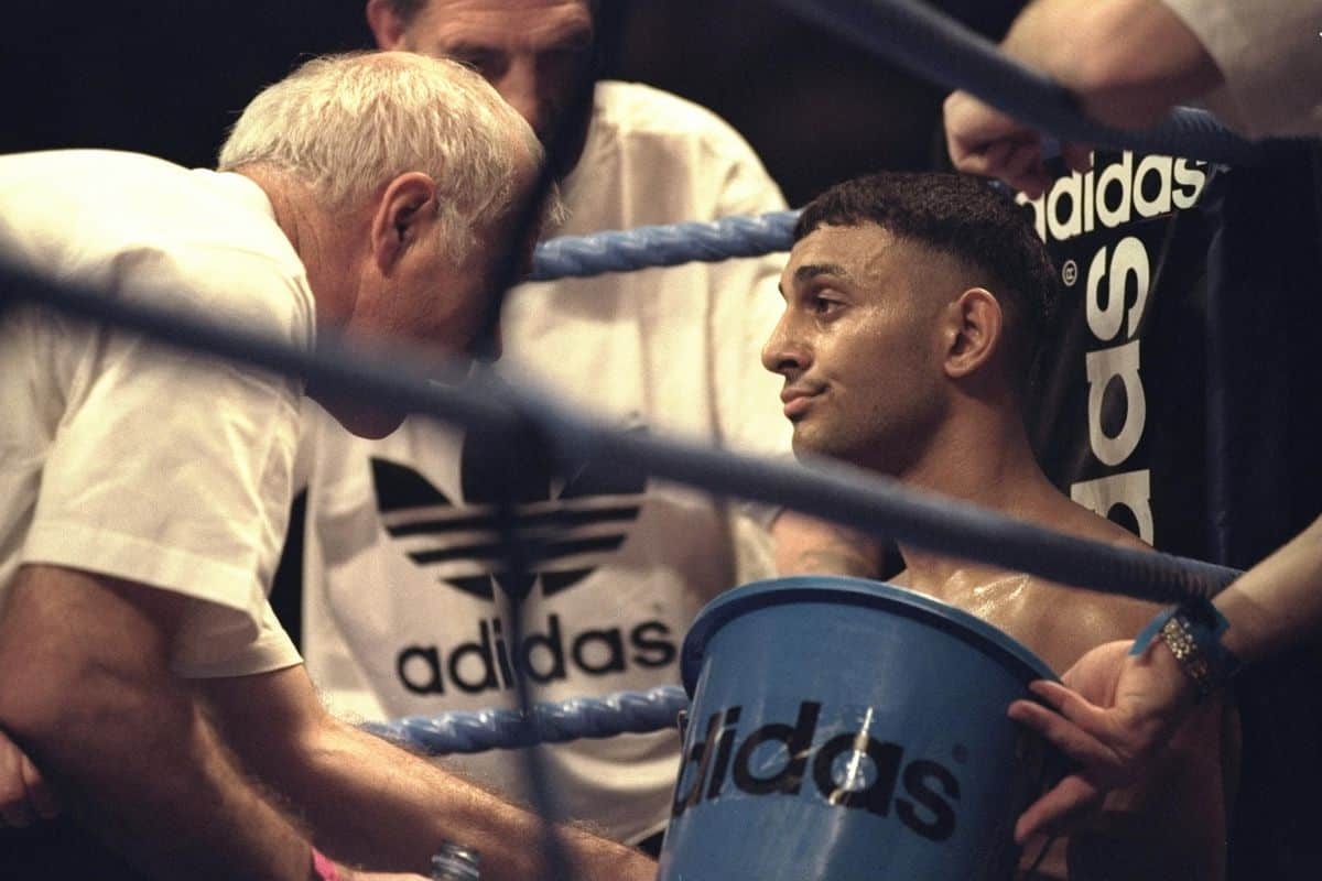 Naseem Hamed And Brendan Ingle 1