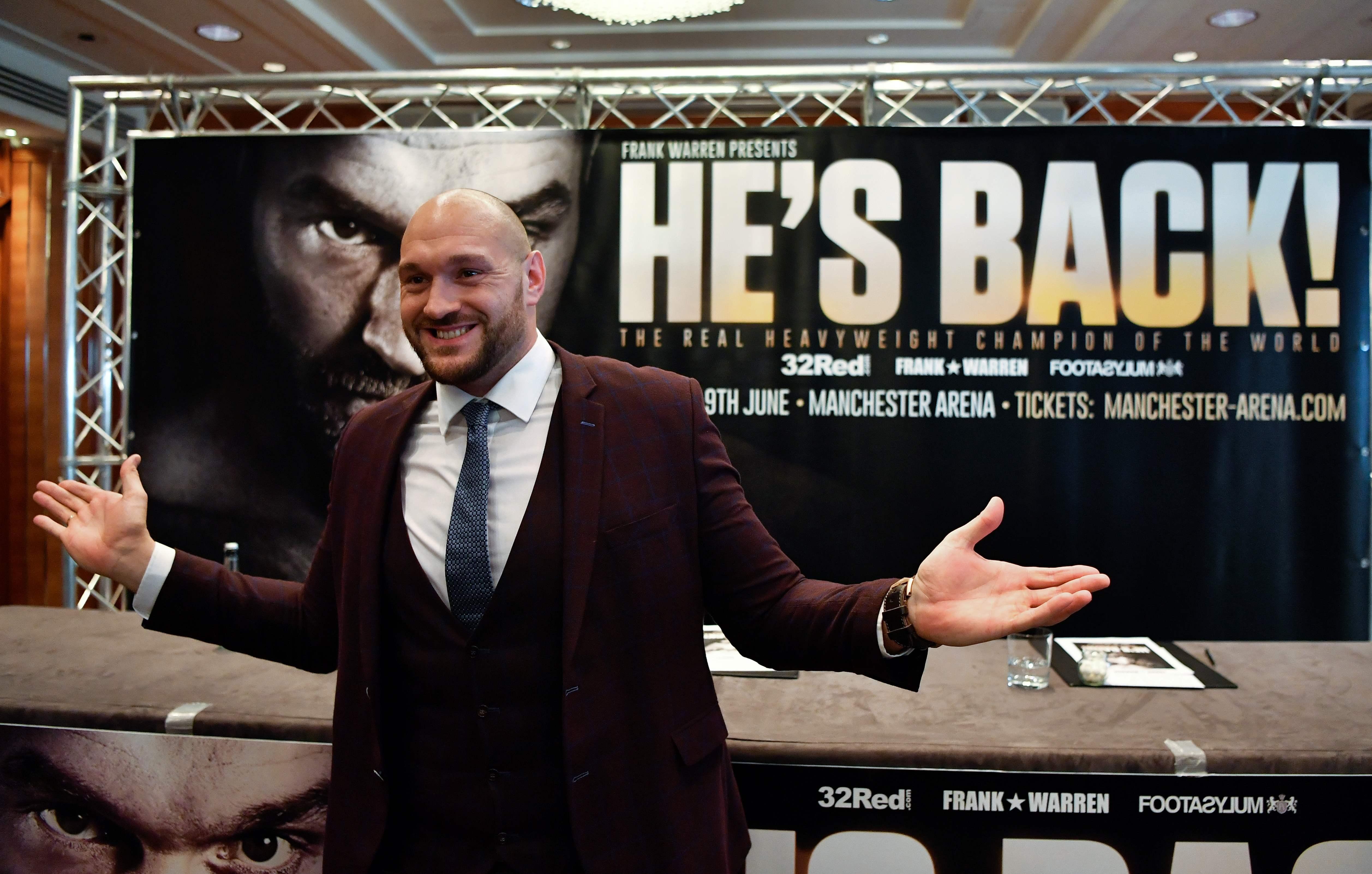 Tyson Fury Returns