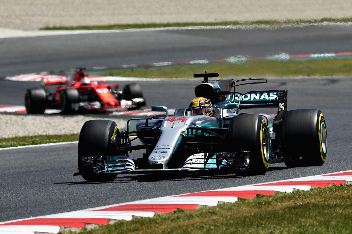 F1: Lewis Hamilton wins Spanish Grand Prix
