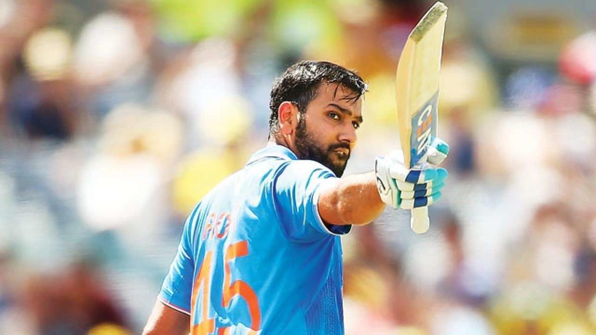 Rohit Sharma Shines for India