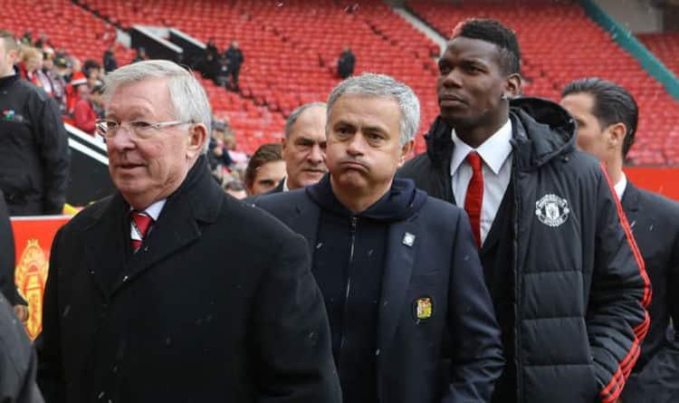Fergie Mourinho And Pogba