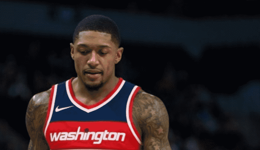 Brad Beal was locked in tonight